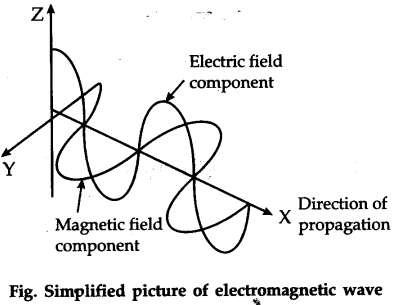 What are the properties of electromagnetic waves explain briefly electromagnetic waves do not require any medium they can move in vacuum ccuart Images