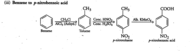 How will you prepare the following compounds from benzene