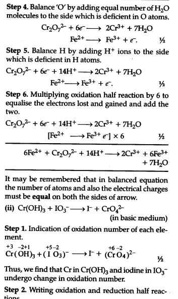 balance the following redox equations by half reaction method cbse class 11 chemistry learn. Black Bedroom Furniture Sets. Home Design Ideas