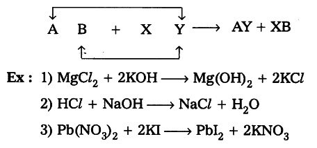 double displacement reaction