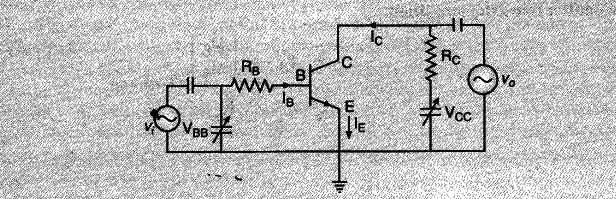 Draw A Circuit Diagram Of N P N Transistor Amplifier In Ce