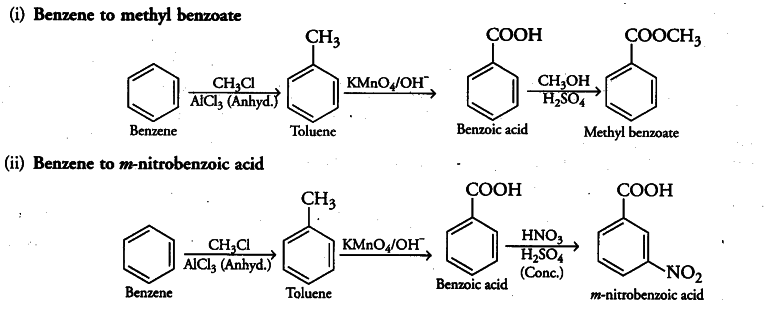 How will you prepare the following compounds from benzene? - CBSE