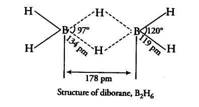 Boron fluoride exists cbse class 11 chemistry learn cbse forum the four terminal hydrogen atoms and the two boron atoms lie in one plane above and below this plane there are two bridging h atoms ccuart Images