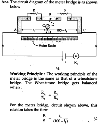 with the help of the circuit diagram explain the working principle rh ask learncbse in