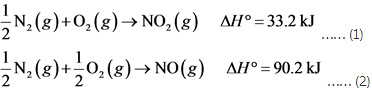Calculate the enthalpy of the reaction 2NO(g)+O2(g)→2NO2(g) - Home Work Help