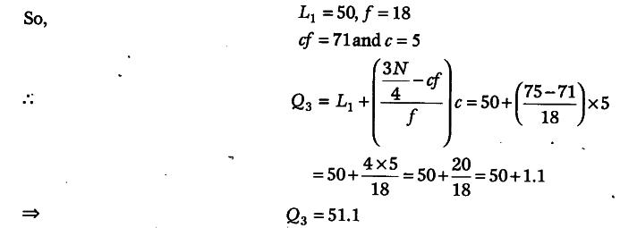 how to find third quartile