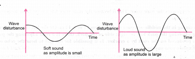 Draw diagrams to represent soft sound and loud sound - CBSE Class 9 ...