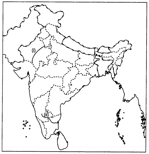 Two features 1 and 2 are marked on the given political outline map on india capital map, india country map, india map with latitude and longitude, india map states, india physical map mountains, russia map outline, india map with cities, georgia state outline,