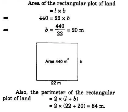 Find the breadth of a rectangular plot of land, if its area