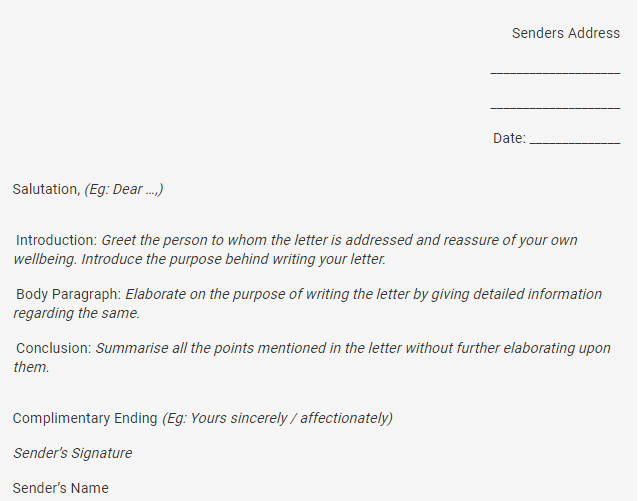 Format A Formal Letter from ask.learncbse.in